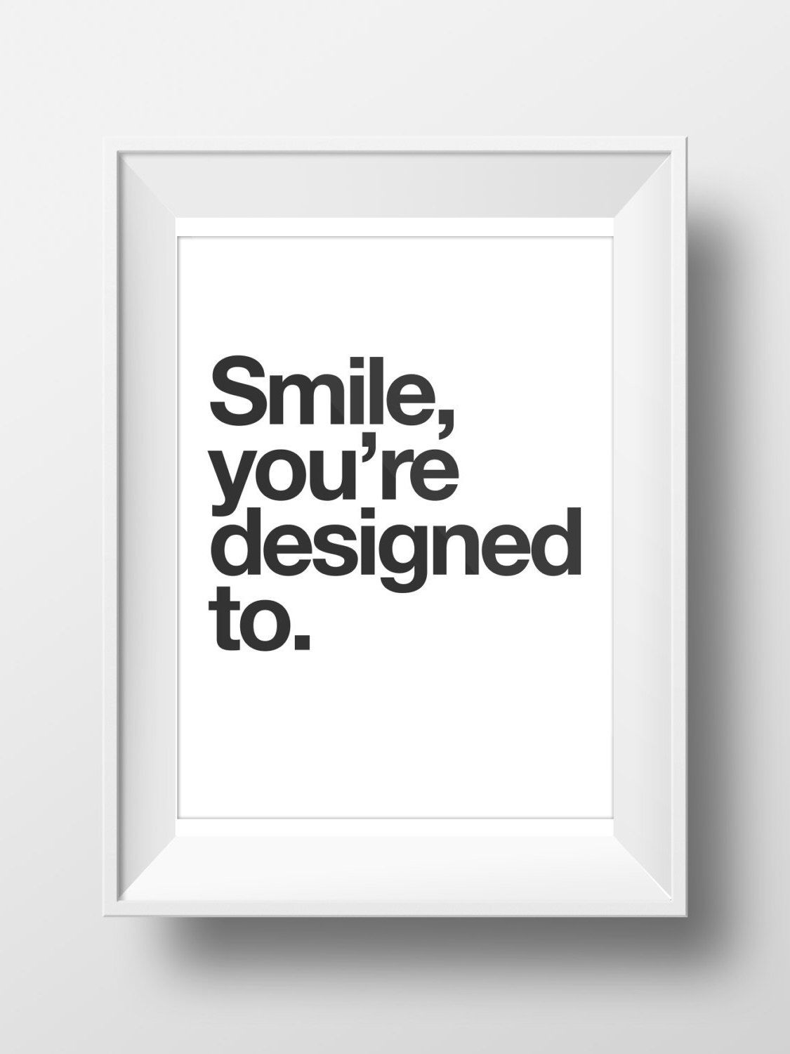 Love Poster, Smile Poster, Printables, Print, Wall Art, Smile You ...