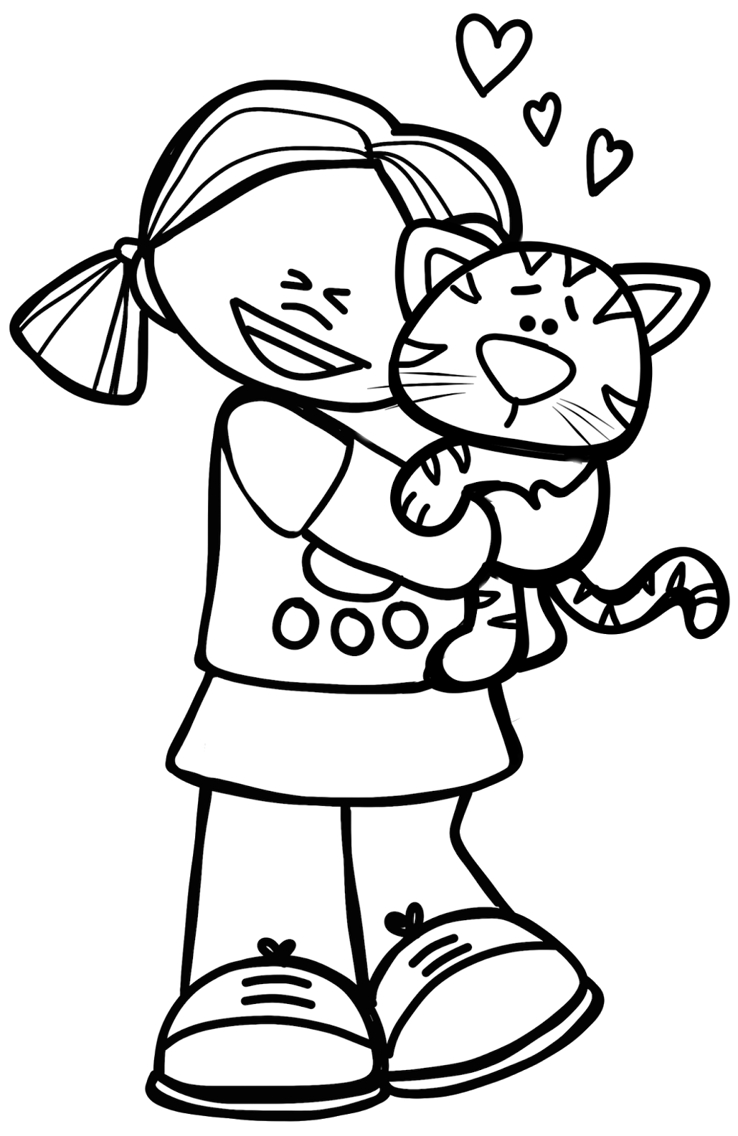 animal coloring pages clipart - photo#50