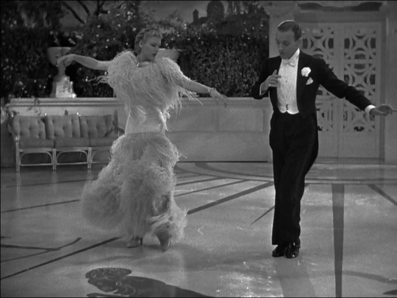 Fred Astaire And Ginger Rogers Dancing Cheek To Cheek In Top Hat 1935 Favorite Movies Fred Astaire Fred And Ginger