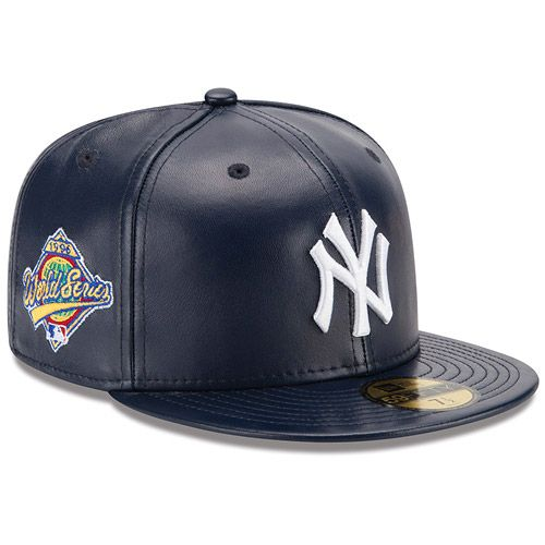 c0a01fe01ae New York Yankees Spike Lee Leather 1996 World Series Exclusive 59FIFTY Cap  by New Era
