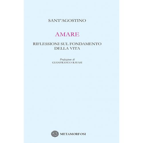 Gianfranco Ravasi firma la prefazione di Amare, Riflessioni sul fondamento della vita, le più belle pagine di Sant'Agostino su tutte le iridescenze dell'amore. C'è l'amore materno puro e assoluto e c'è la freschezza dell'amore matrimoniale, c'è l'amicizia delicata e fragile e la carità verso il prossimo. E c'è naturalmente l'amore per il Bene immutabile e sommo, segreta anima di ogni amore concreto  e contingente.
