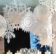 Snowflake Party Cocoa And Snowflakes Winter Party Decorations