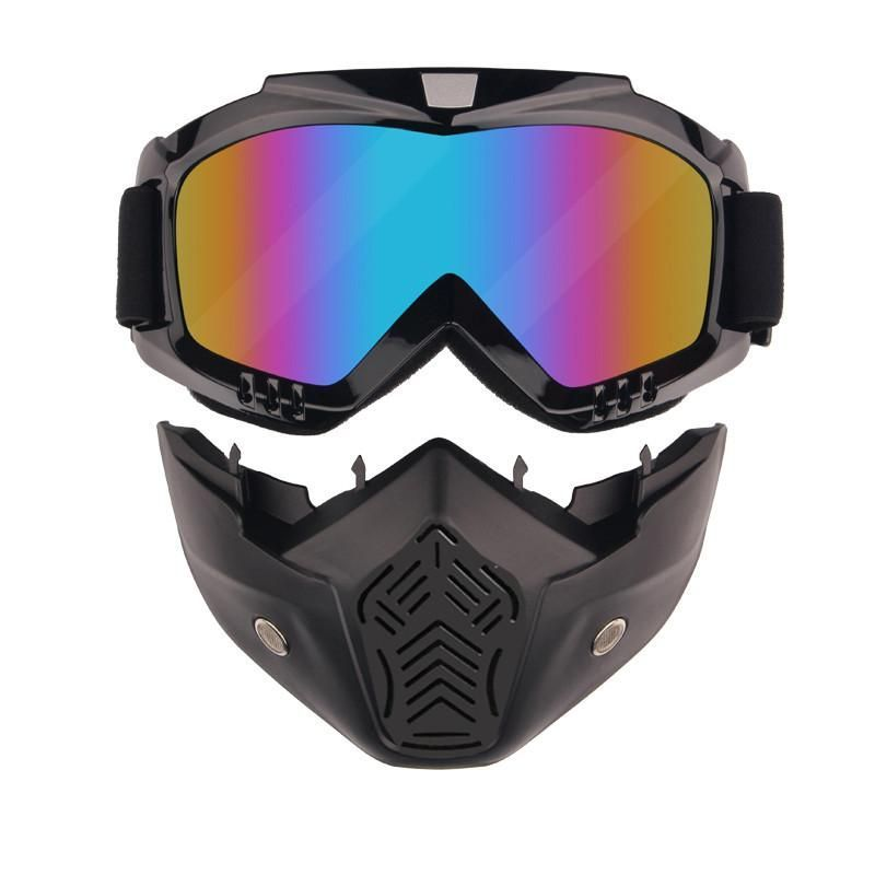 2 piece face mask best ski goggles open face motorcycle