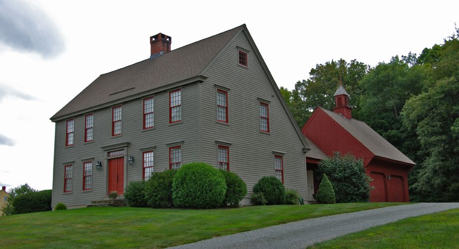 Saltbox house they are frame houses with two stories in for Saltbox colonial house plans
