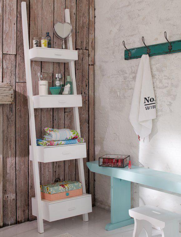 estanterias de bano car mobel pared