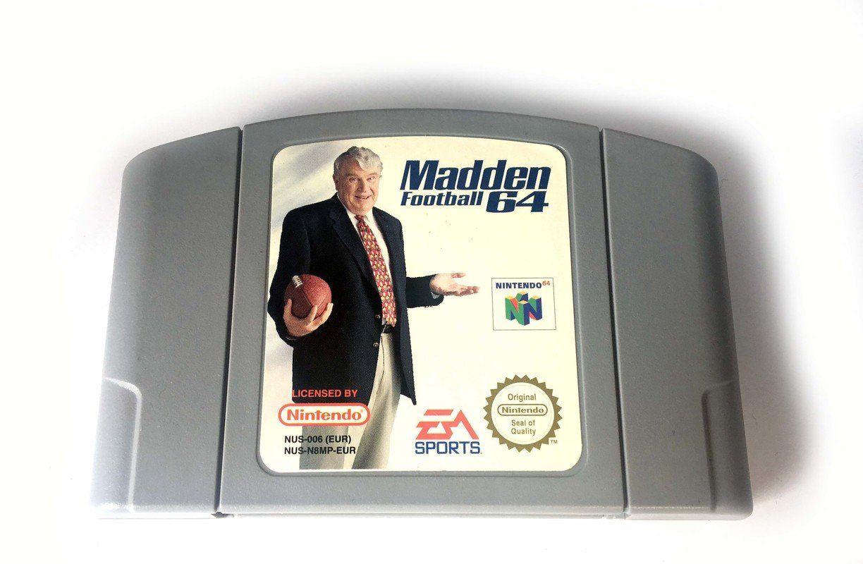 N64 Madden 64 Nintendo N64 Www Detoyboys Nl Actiefiguren
