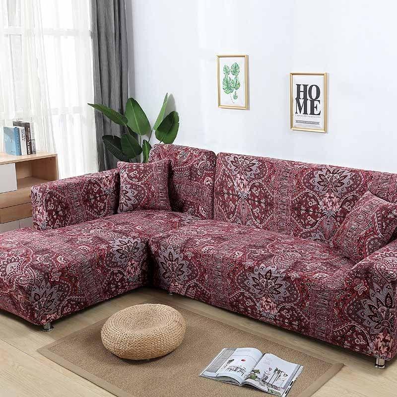Modern Sofa Cover Tight Wrap All Inclusive Stretch Sofa Covers