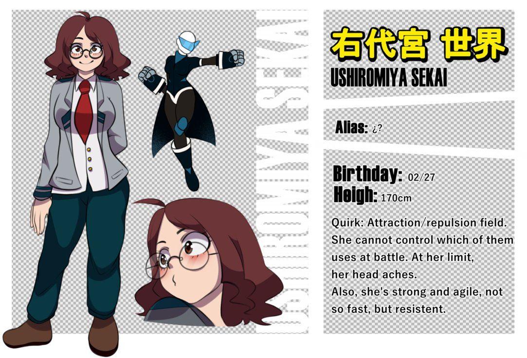 Bnha sekai ushiromiya by bluestarrygirl hero academia