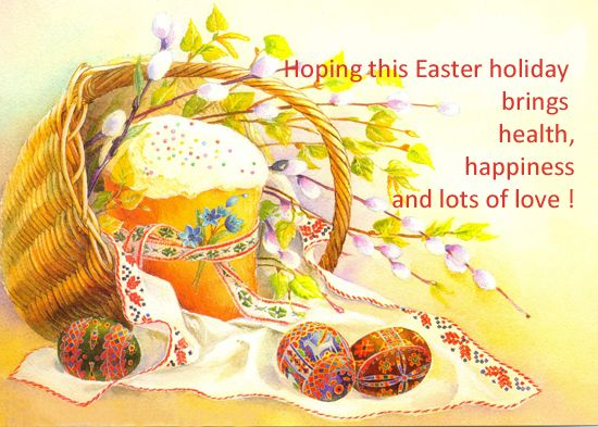 Easter 2016 Card Greetings – Easter Card Messages