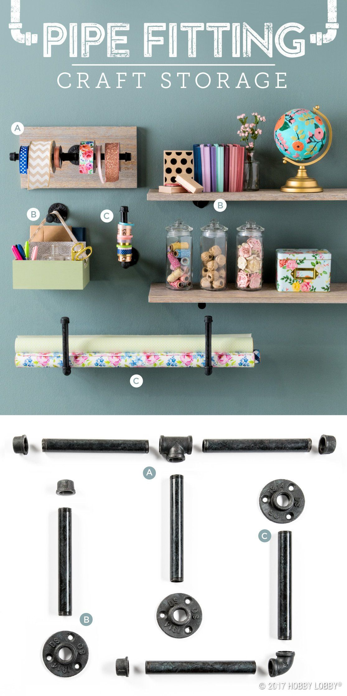 Ready To Declutter Your Craft Space? Get Stylishly Organized With Unique  Storage Solutions!