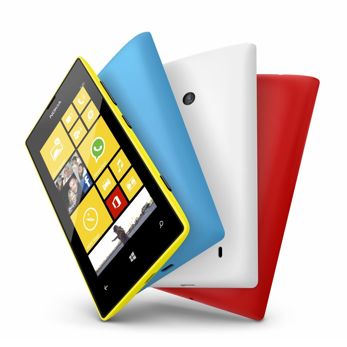 Nokia Lumia 720 and Nokia Lumia 520 launched at Nokia