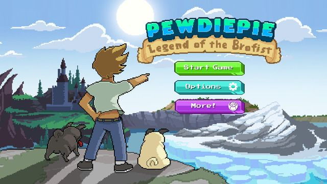 PewDiePie Legend of Brofist disponibile in App Store il gioco del noto youtuber