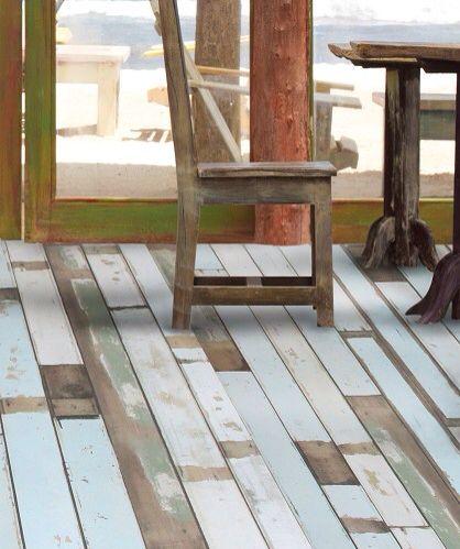 Beach House Laminate Floor Topps Tiles Surf Decor Flooring