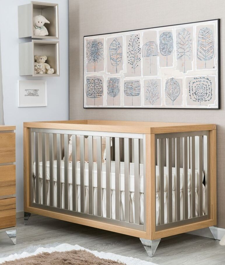 Romina Furniture Pandora Classic Crib Cribs Furniture Traditional Cribs