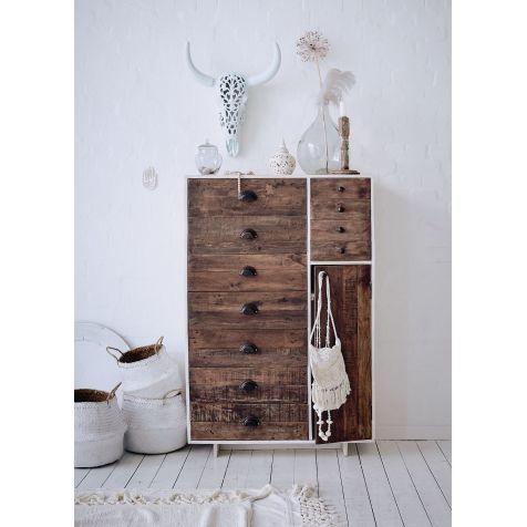 Kommode, Natur Look, Recyceltes Holz Katalogbild Wohnung - badezimmer kommode holz