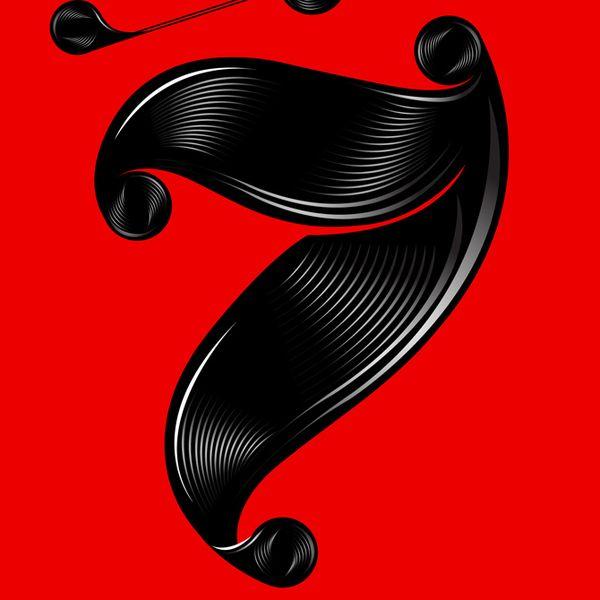 24 7 Type Flow By Yllv Karol Gadzala Via Behance Typography