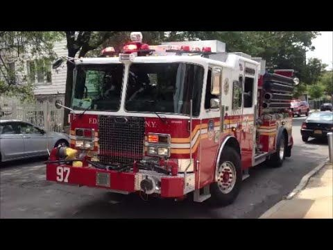 Super Exclusive First On Scene Video Of Brand New Fdny Kme Engine