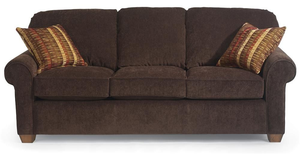 Flexsteel Thornton Stationary Upholstered Sofa   Walkeru0027s Furniture   Sofa  Spokane, Kennewick Washington, Coeur