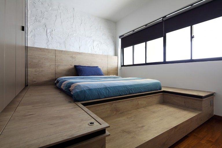 A Whole New Level 30 Raised Platform Designs For Your Home Bedroom Interior Bedroom Bed Design Platform Bedroom