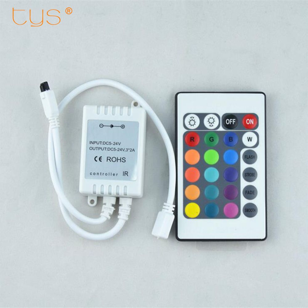 New Dimmer Rgb Led Controller Dimmer Mi Light Njorf Remote Control Mini 24keys 12v Battery Rgb Led Light Str Rgb Led Strip Lights Led Strip Lighting Led Dimmer