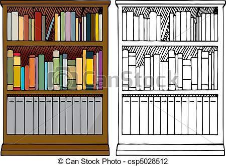 bookshelves drawing - Buscar con Google