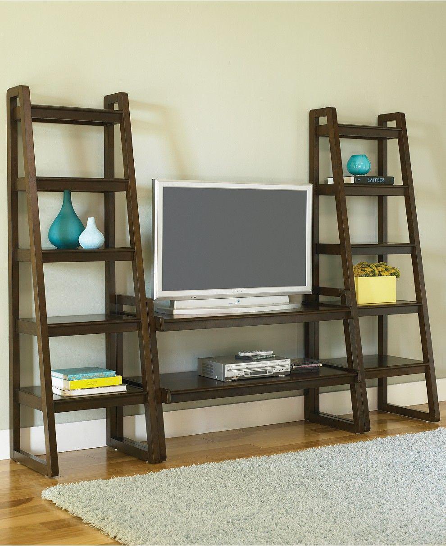 Metro 3 Piece Entertainment Center Tv Stands Furniture Macy S