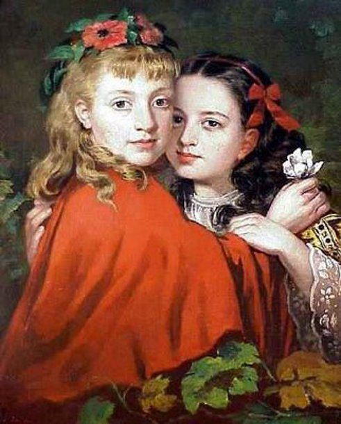 James Collinson - The Sisters (1860)