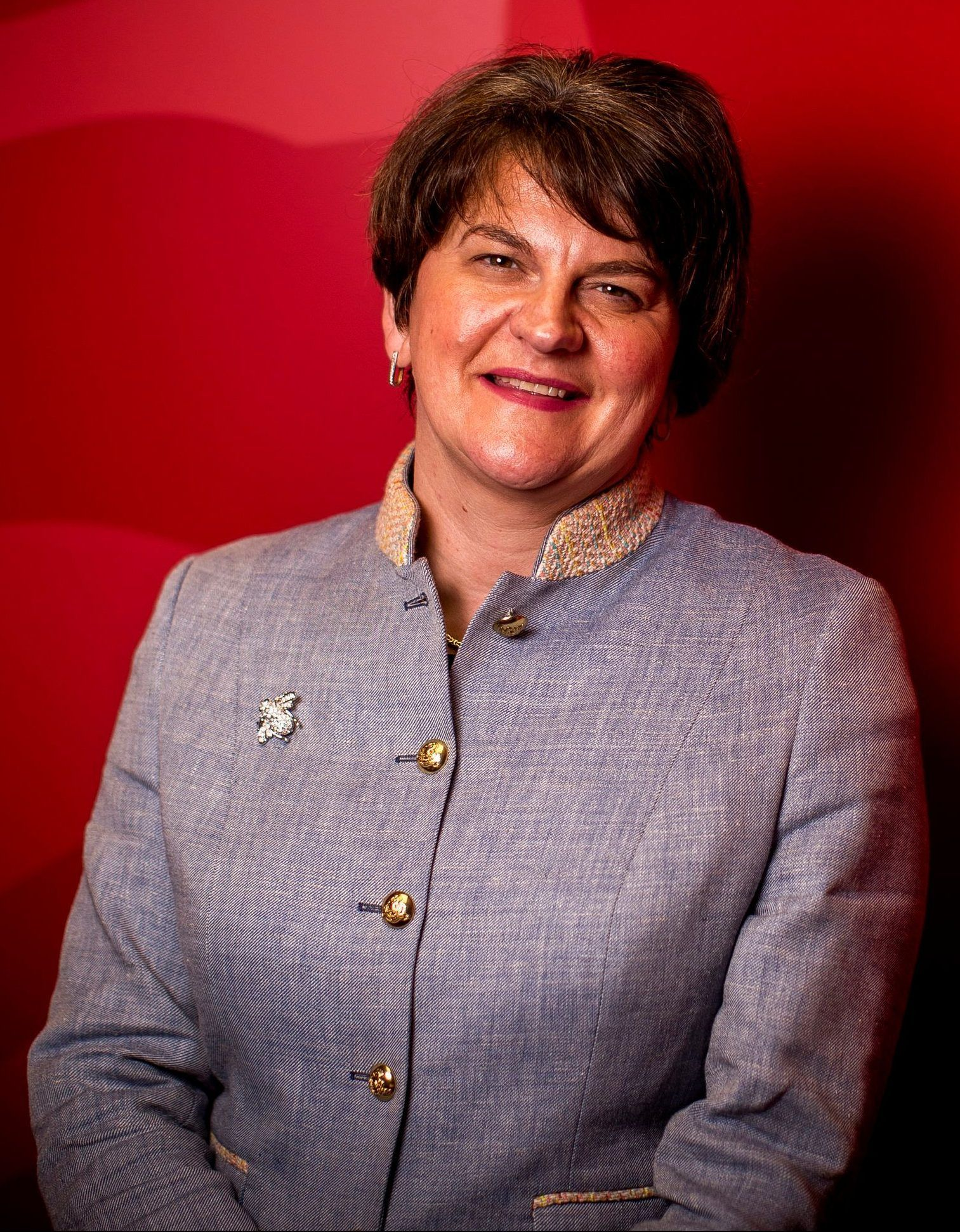 Furious Arlene Foster lashes Boris Johnson for reneging on promise not to put up Irish Sea border