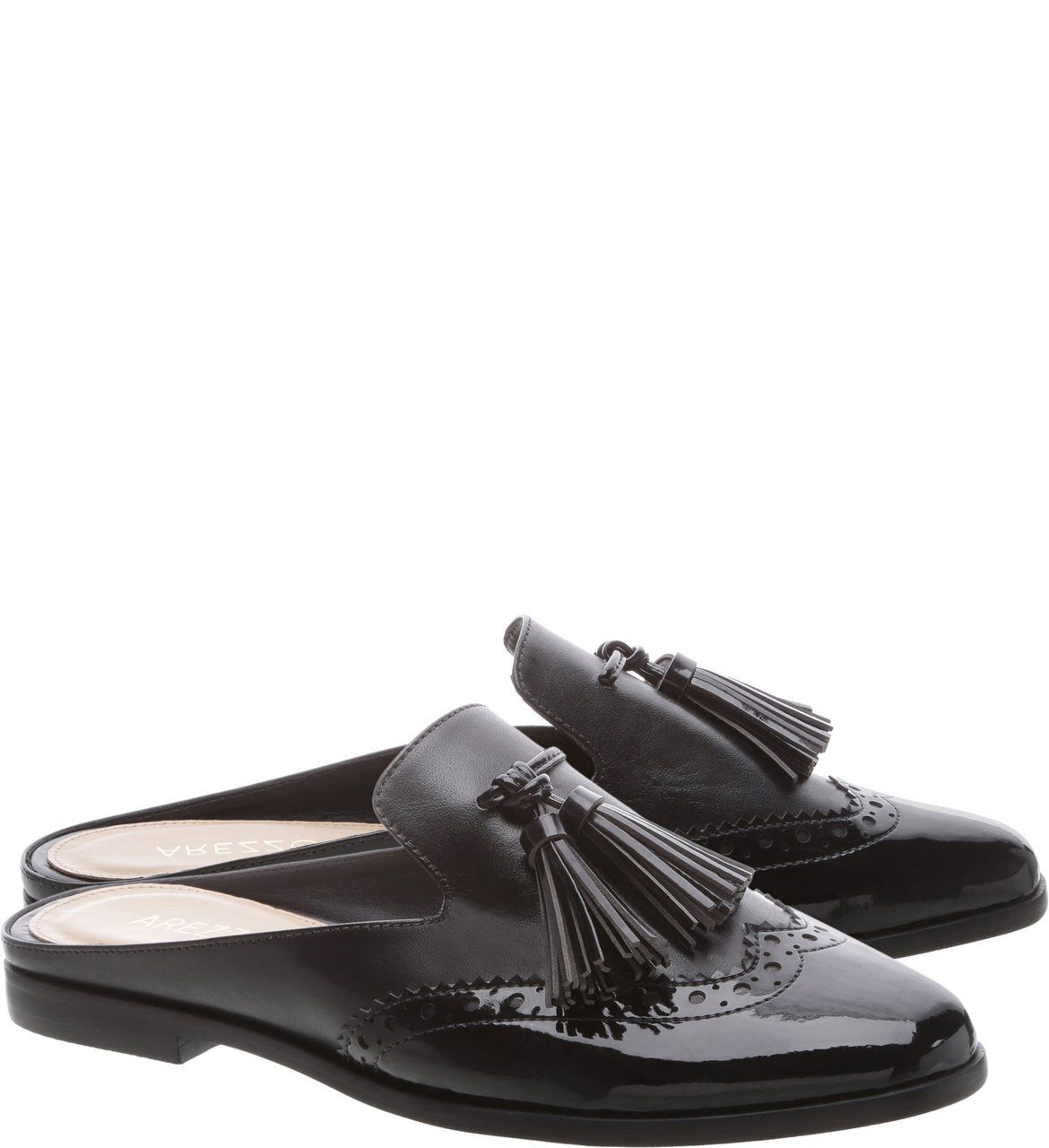 a70594084 Mule Barbicachos Preto   Arezzo   Closet em 2019   Oxford shoes ...