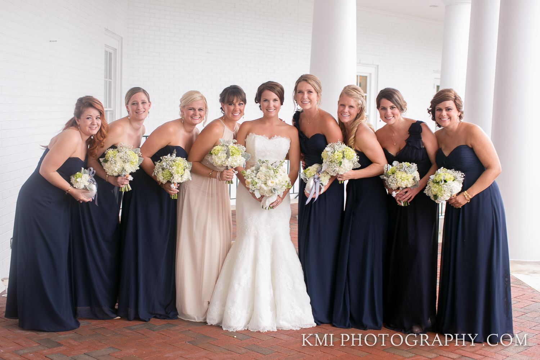 Navy Nautical Summer Wedding; August 2014; Cape Fear Country Club; Wilmington NC Weddings; KMI Photography; Design Perfection Weddings