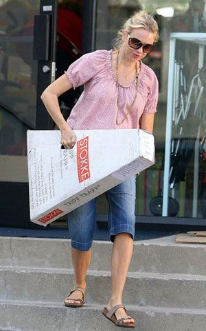 Actress Naomi Watts spotted with her new Stokke Tripp Trapp high chairActress Naomi Watts spotted with her new Stokke Tripp Trapp high  . High Chair Like Stokke. Home Design Ideas