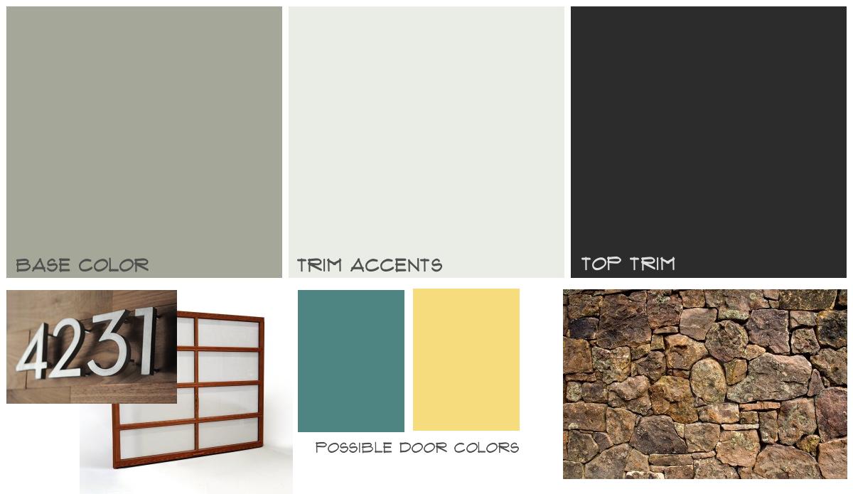 The Perfect Paint Schemes for House Exterior | Modern paint colors ...
