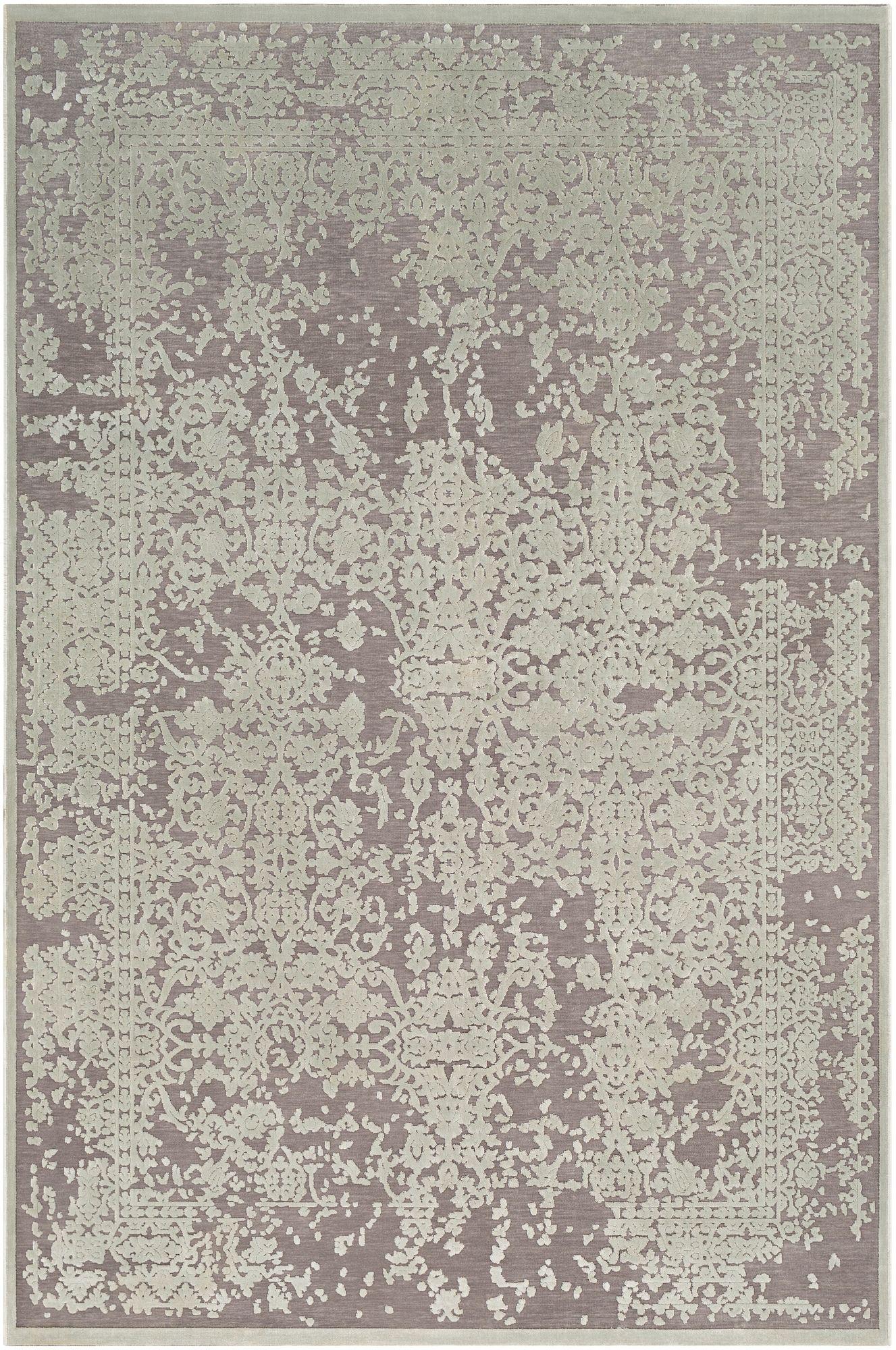 Distressed Design 2 X 3 Area Rug Seafoam Medium Gray Area
