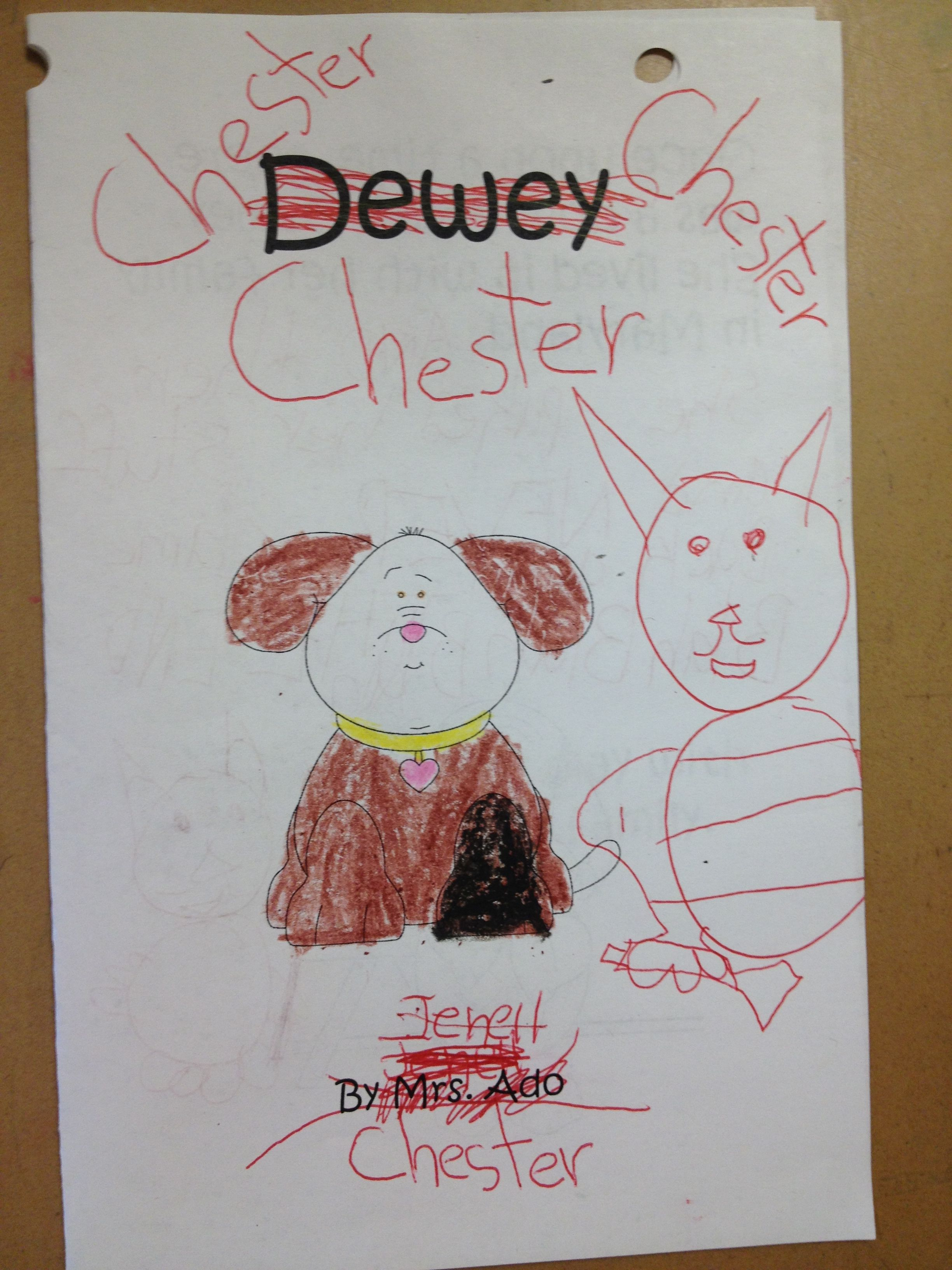 Chester By Melanie Watt Point Of View Follow Up Activities