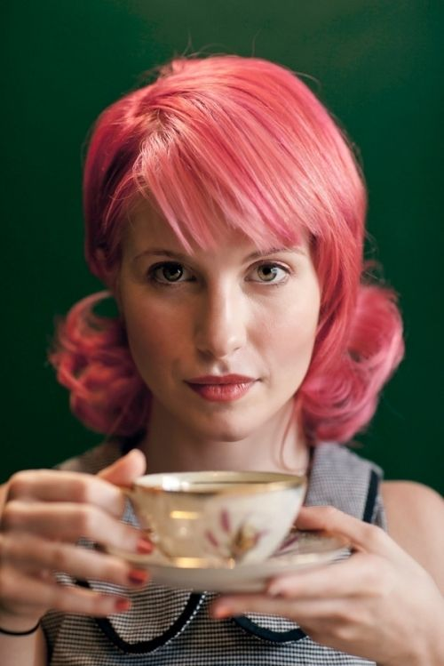 Hayley Williams Pink Hair Hayley Williams Pink Hair Paramore