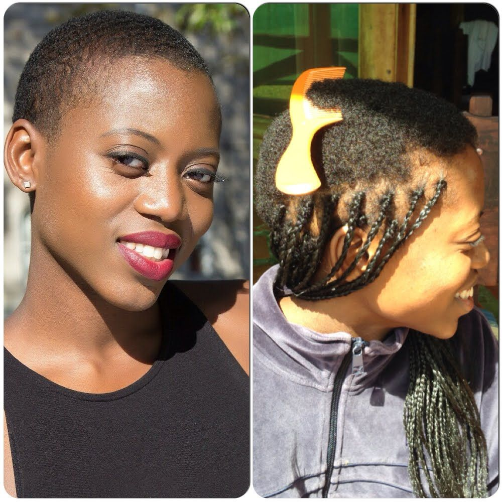 Protective Braiding Hairstyle For A Twa African Braids Hairstyles Pictures African Hairstyles Hair Styles