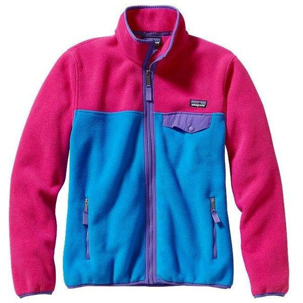 d8aca1136f76 Patagonia Women's Full-Zip Snap-T® Fleece Jacket ($129) ❤ liked on Polyvore
