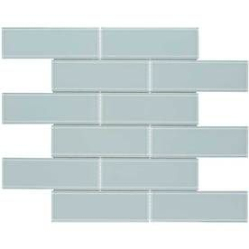 Elida Ceramica Skylight Subway Mosaic Gl Wall Tile Common 12