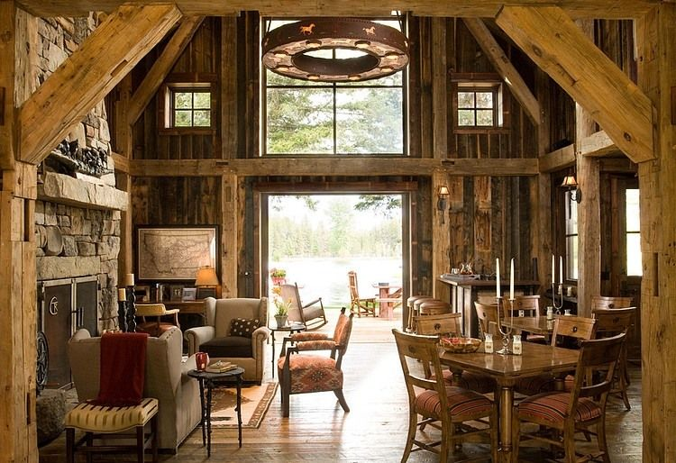 Rustic Retreat by RMT Architects My future house ) Pinterest