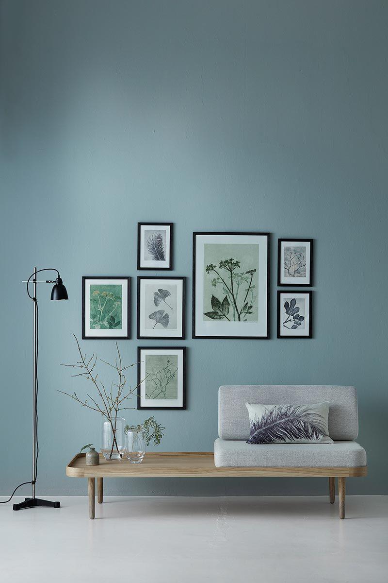 Pernillefolcarelli giersch gr n bild kunstdruck 30x40 - Bilderwand wohnzimmer ...