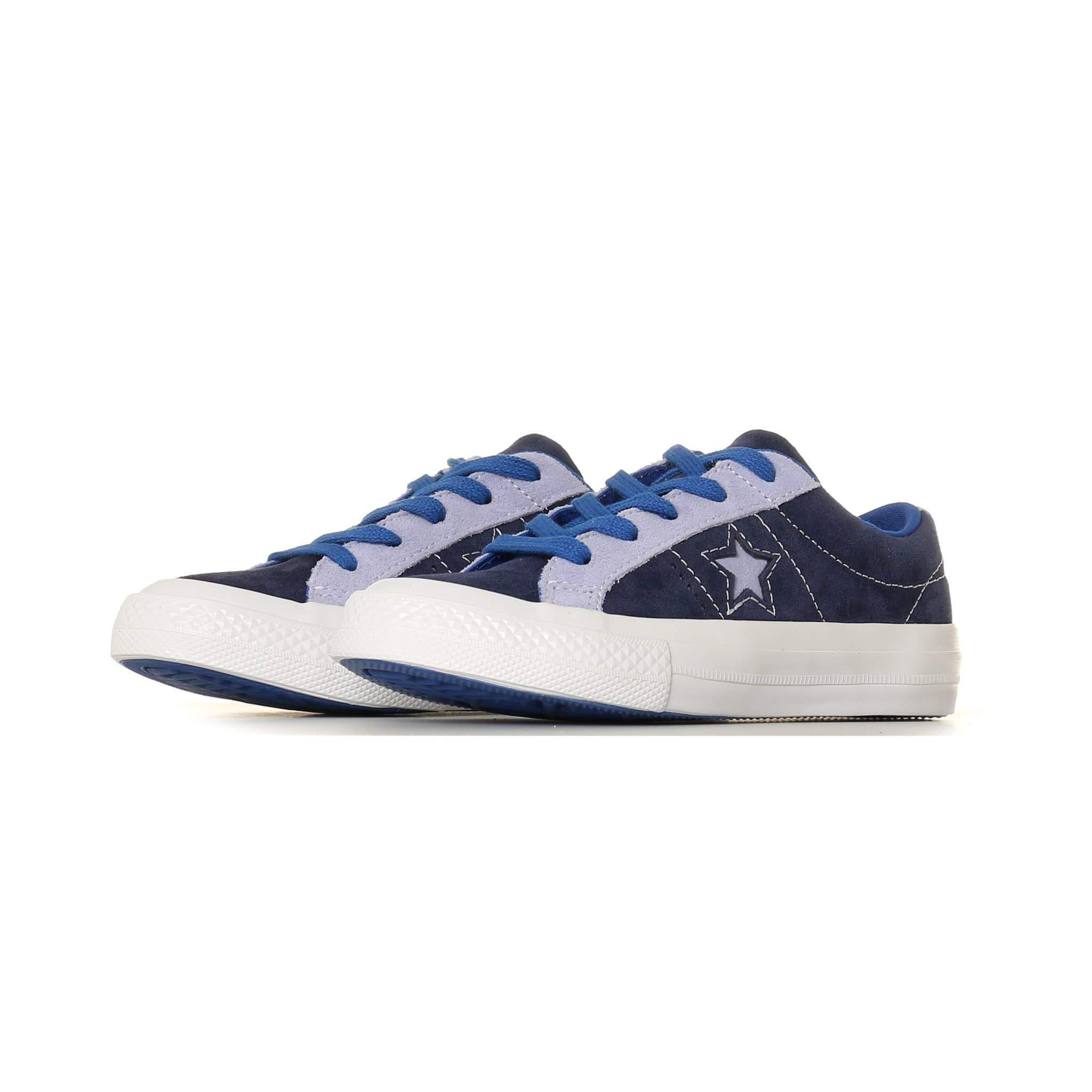 Converse Kids One Star Carnival Suede Eclipse Twilight