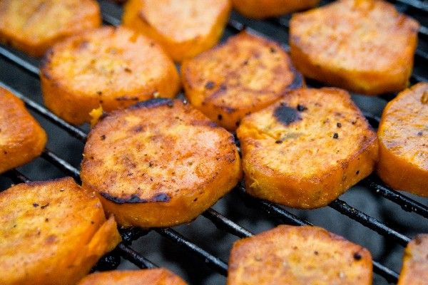 Healthy Crispy Barbecued Sweet Potatoes #Recipe