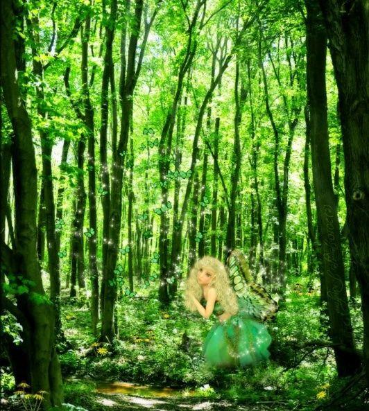 féerique vert