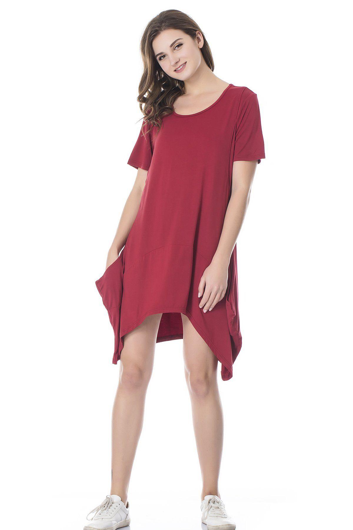 1853ea8e859e3 Maternity Styles - skinny maternity maxi dress : Bearsland Womens Maternity  Short Sleeves Summer Breastfeeding Nursing Dresses Wine Red M ** You could  ...