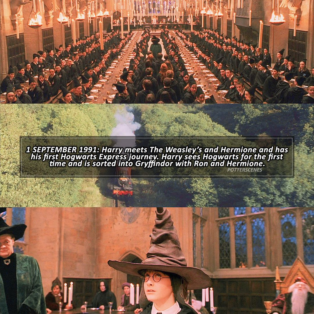 September 1st Hogwarts Hogwarts Express Ron And Hermione