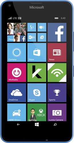 Popular On Best Buy Cricket Wireless Microsoft Lumia 640 4g Lte With 8gb Memory Prepaid Cell Phone Cyan In 2019 Cell Phones For Seniors Cool Things To Buy Sprint Cell Phone Deals