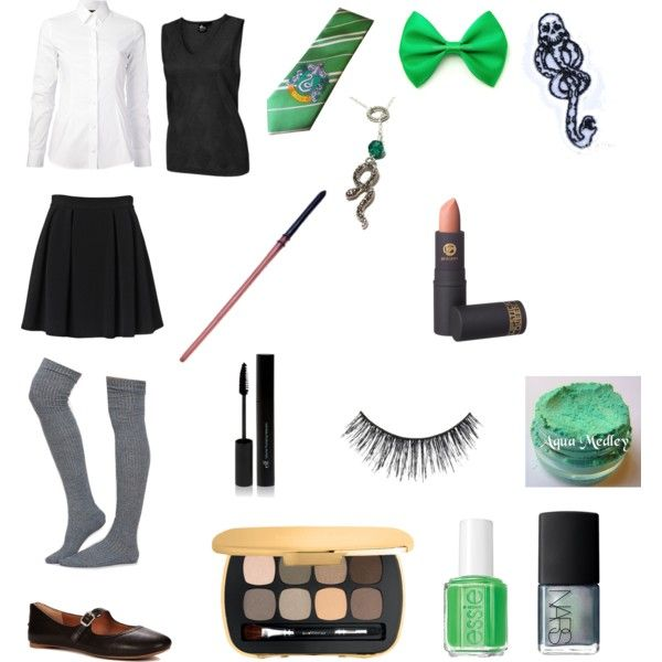 """Genderbent Draco Malfoy."" by s4tans-cat on Polyvore"