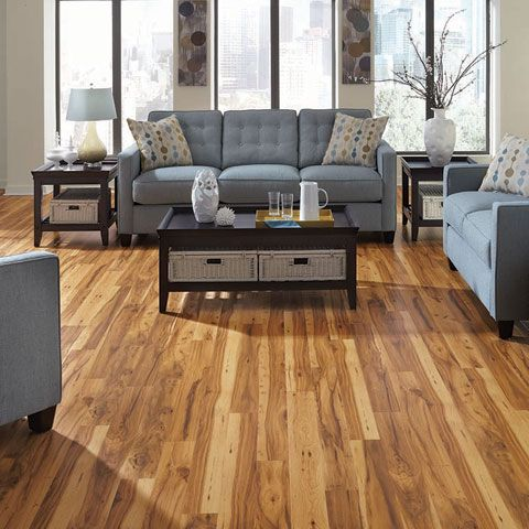 Basement Floors Pergo Handscraped Dawson Hickory