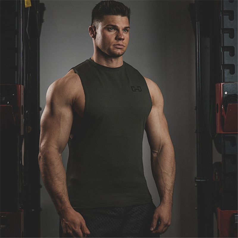 f16507214803e Best 2017 Brand Clothing Fitness Tank Top Men Stringer Golds Bodybuilding  Muscle Shirt Workout Vest Gyms