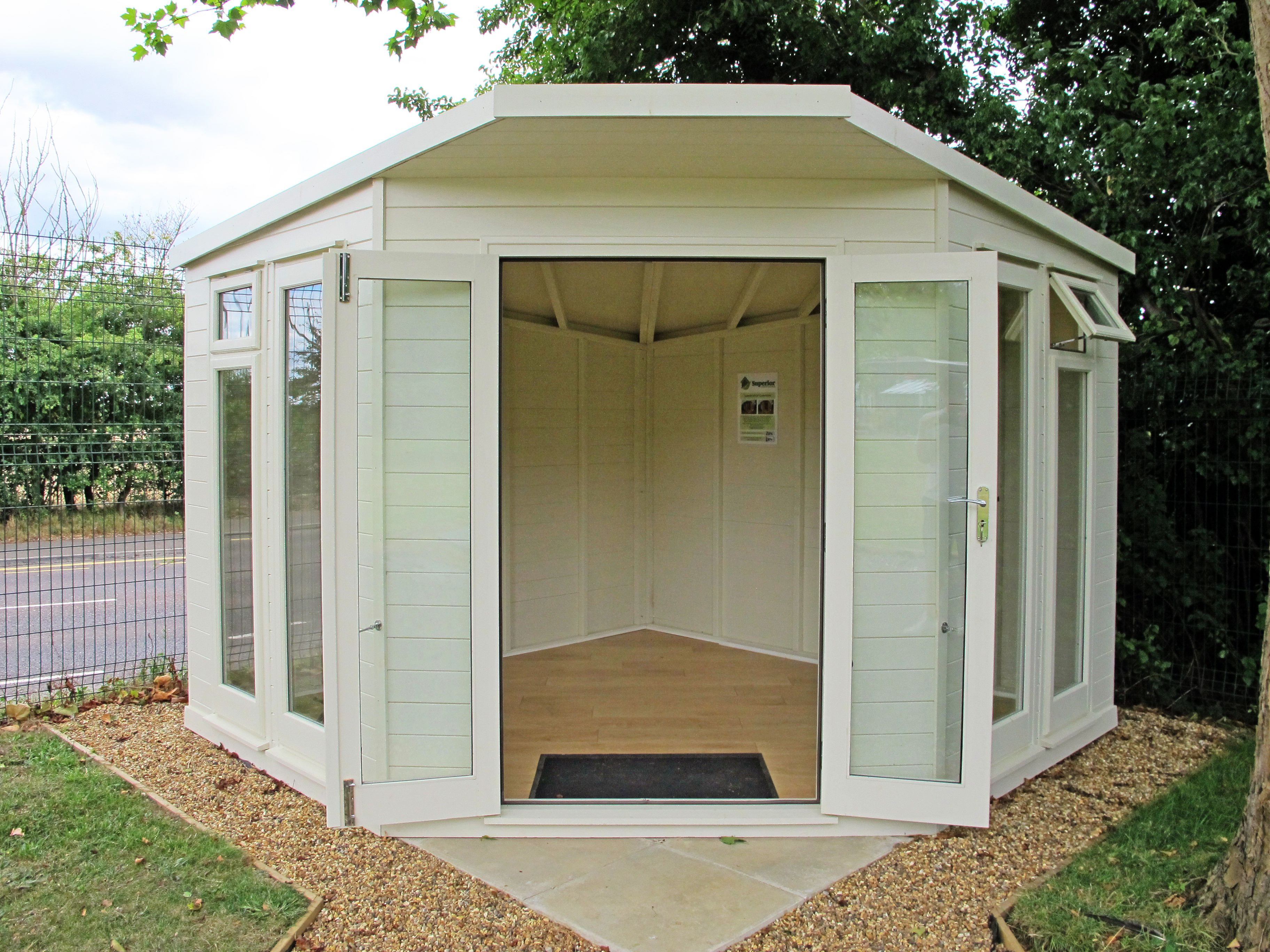 Charmant Contemporary Corner Shed Pent Roof   Google Search